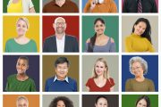 38980045 - people diversity faces human face portrait community concept