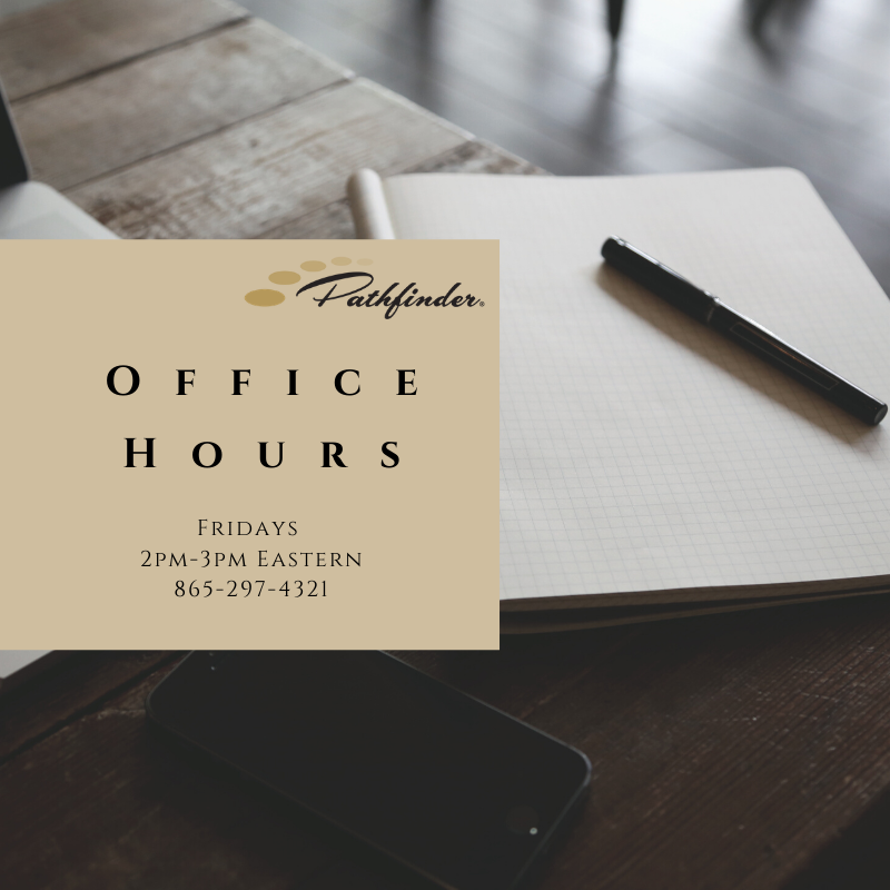 Pathfinder Office Hours
