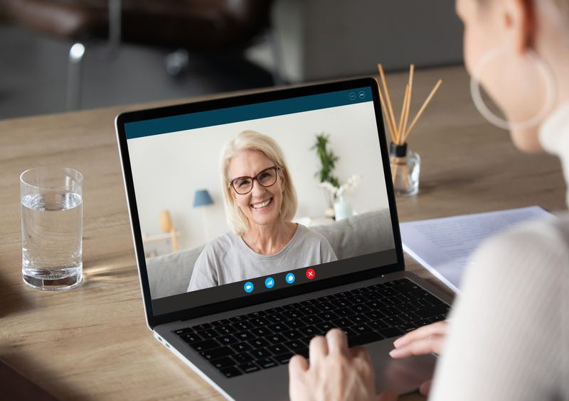 Financial advisor video to a client