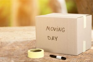 Every day is moving day