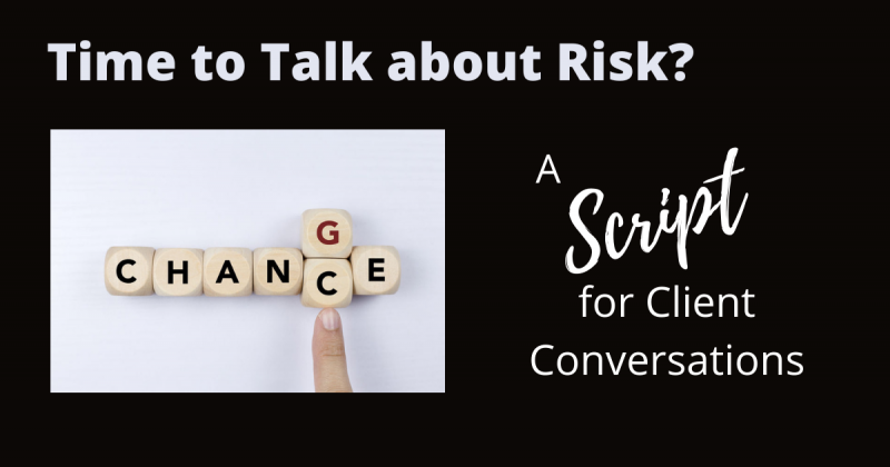 Time to Talk About Risk